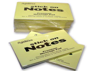 Giấy Note 3x5 (7.6 x 12.7cm)