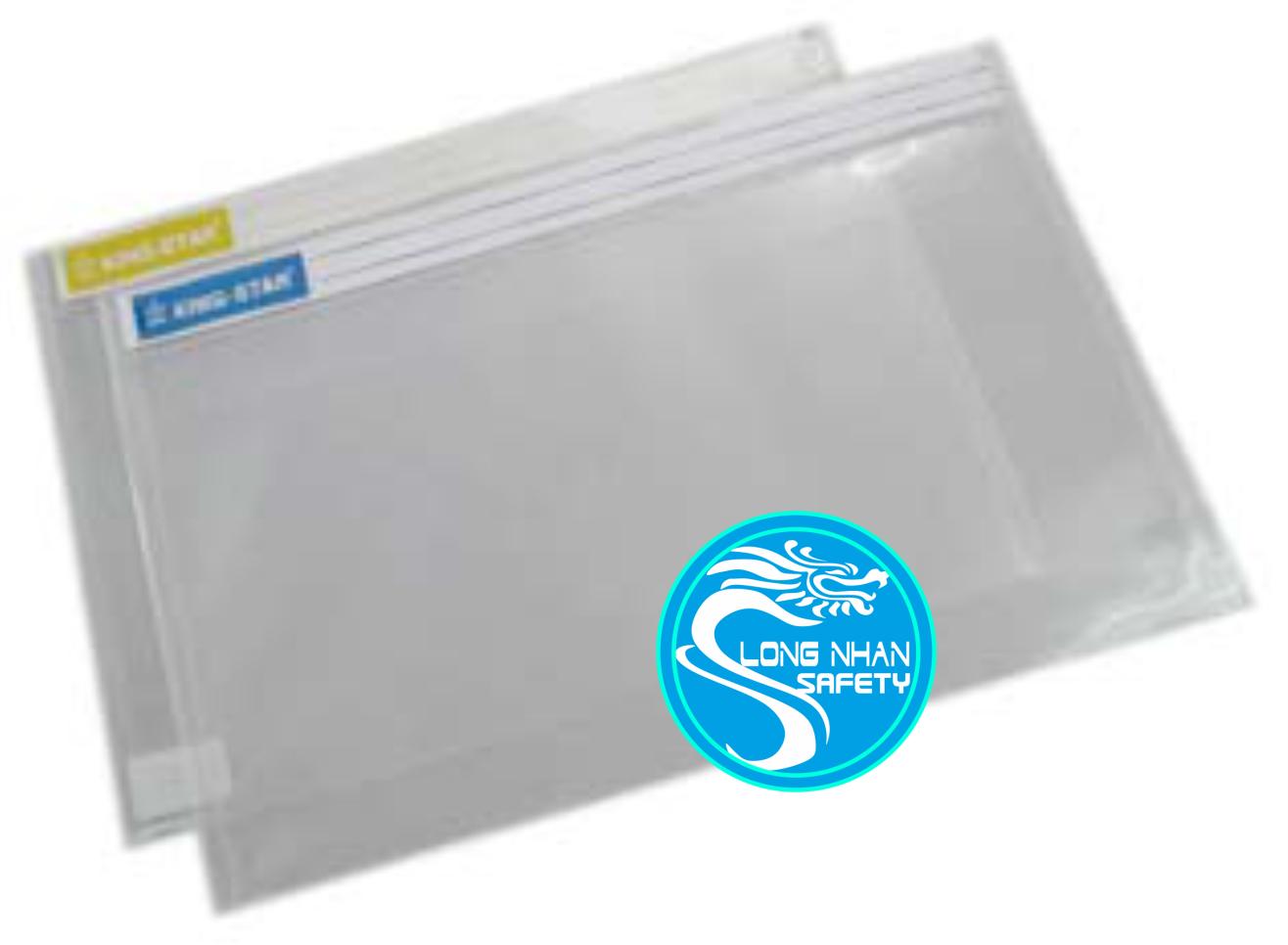 Bìa Bao Thư Nhựa có nắp nhãn